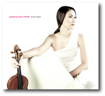 Susanna Yoko Henkel - pure bach (Sontas and Partitas for violin solo BWV 1001 - 1006)